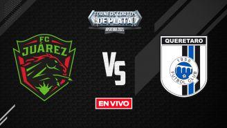 EN VIVO Y EN DIRECTO: Juárez vs Querétaro Liga MX Apertura 2021 J10