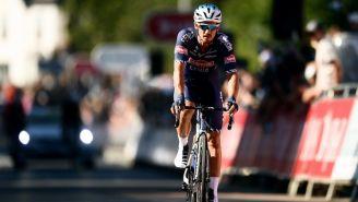 El ciclista Alexandar Richardson, del equipo Alpecin-Fenix