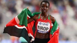 La atleta keniana Agnes Jebet Tirop