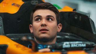 Pato O´Ward en el monoplaza de McLaren