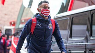 Gallito Vázquez previo a un partido de las Chivas