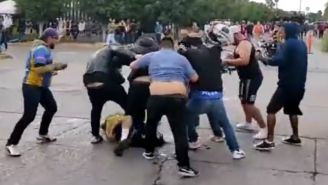 América vs San Luis: Aficionados de ambos equipos se pelearon a las afueras del estadio