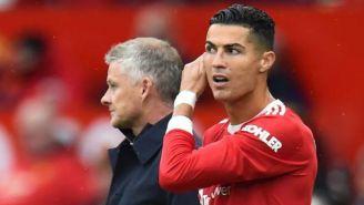 Manchester United: Cristiano Ronaldo discutió con Solskjaer por suplencia ante el Everton