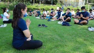 Pumas CU: Incorpora yoga en sus entrenamientos