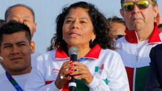María José Alcalá en un evento