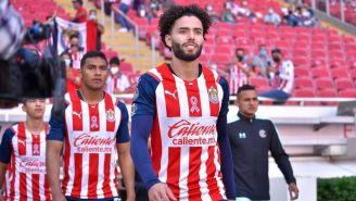 Huerta en partido con Chivas