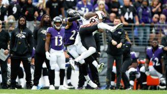 Ravens contra Bengals en acción