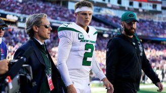 NFL: Quarterback de Jets, fuera de acción al menos dos semanas por lesión