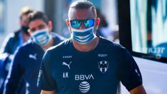 Mohamed previo a un partido de Monterrey