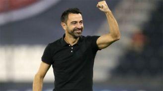 Xavi sería el DT de Barcelona