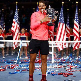 Nadal muerde el título del US Open