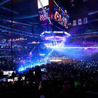La Arena Ciudad de México during Triplemanía XXV