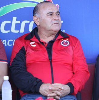 Juan Antonio Luna en un partido de Veracruz