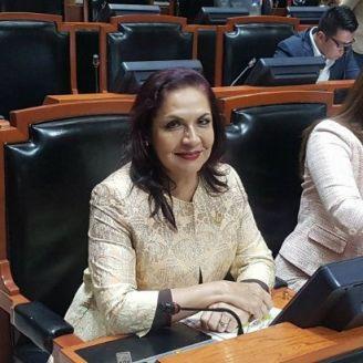 Diputada del PRI, María del Refugio Ruíz Moreno