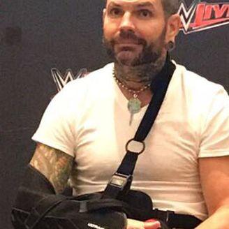 Jeff Hardy, en conferencia de prensa