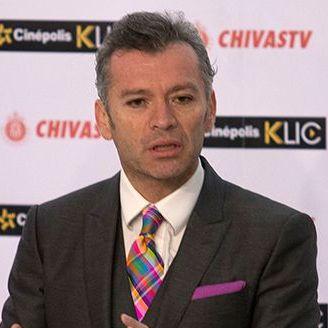 José Luis Higuera durante una conferencia