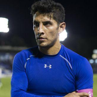 Ángel Reyna, después de un partido de Celaya