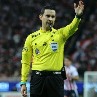 César Arturo Ramos, durante el juego entre Chivas y Atlas