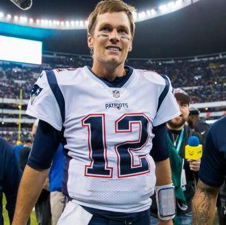 Brady, tras la victoria de Patriots en el Azteca