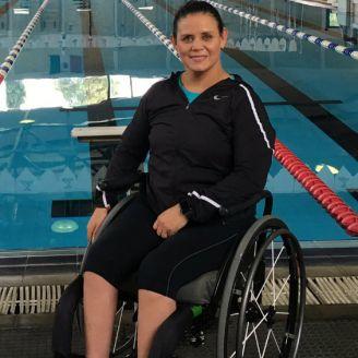 Nely Miranda, previo al Campeonato Mundial de Natación