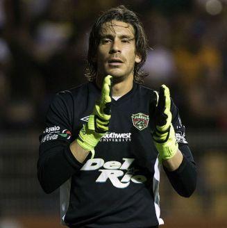 Cirilo Saucedo durante el partido de Vuelta contra Dorados de Sinaloa