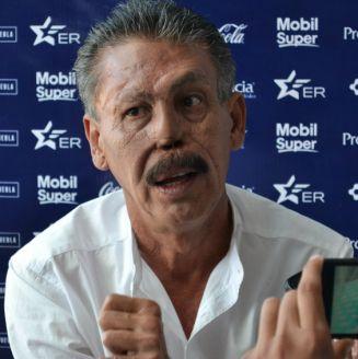 Larios, durante el día de medios previo al juego de la J17 de la Liga MX en el Cuauhtémoc