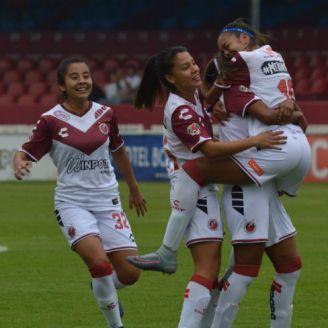 Veracruz femenil celebra triunfo sobre Tuzas