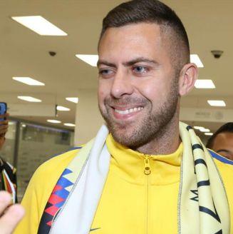 Ménez, a su llegada al Aeropuerto de la CDMX
