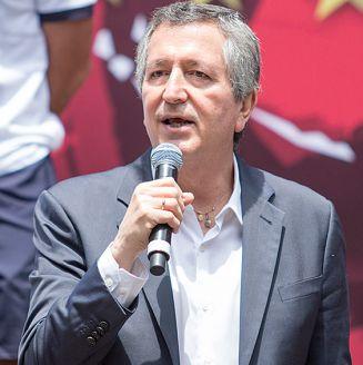 Jorge Vergara, durante un evento de Chivas