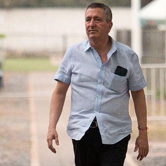 Jorge Vergara visita entrenamiento de Chivas