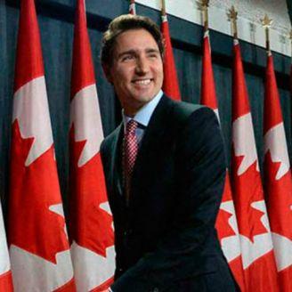 Justin Trudeau, primer ministro canadiense.