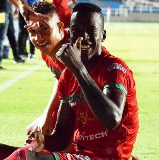Cristian Borja durante un partido con el Cortulúa