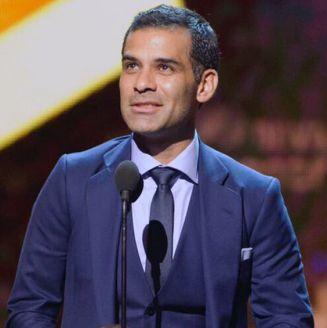 Rafa Márquez, durante un evento