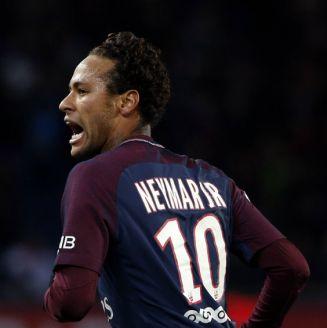 Neymar celebra un gol con el París Saint-Germain