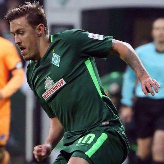 Max Kruse, durante un juego con Werder Bremen