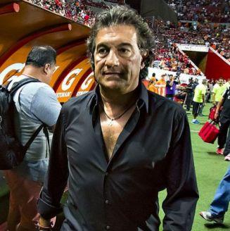 Romano, en un partido en el Apertura 2015