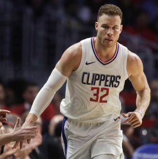 Blake Griffin previo a un partido con Clippers