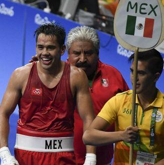 Misael Rodríguez previo a un combate en Río 2016