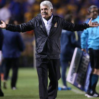 Ferretti, durante un partido de Tigres