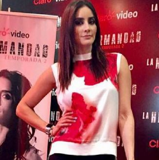 Paola Núñez posa en un evento