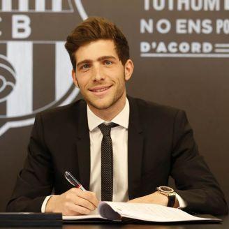 Sergi Roberto firma su renovación con Barcelona