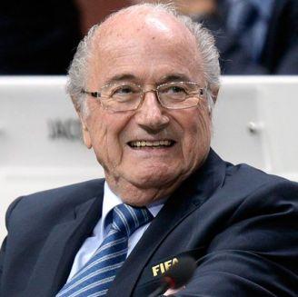Blatter, durante una conferencia de prensa