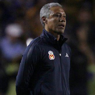 Roberto Hernández, durante el juego frente a Tigres