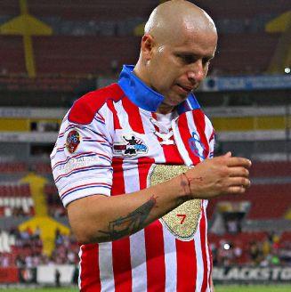 Bofo, durante su partido de despedida en el Jalisco