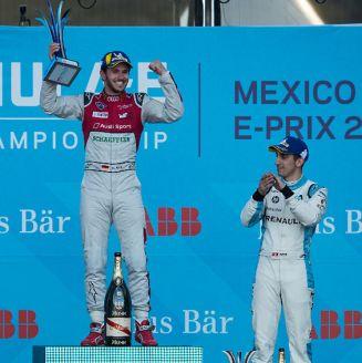 Daniel Abt, en lo más alto del podio del Mexico City E-Prix