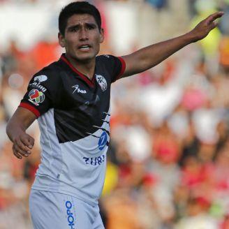 Lobos BUAP durante el juego contra Veracruz en la J9