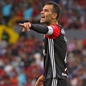 Rafael Márquez en un partido del Atlas