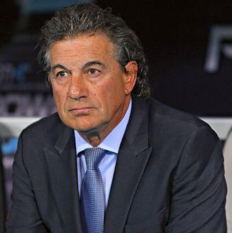 Rubén Omar Romano, durante un partido contra Puebla