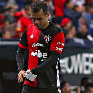 Márquez se lamenta en un partido con Atlas