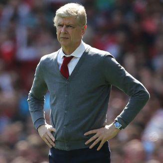 Arsene Wenger, durante un partido de Arsenal